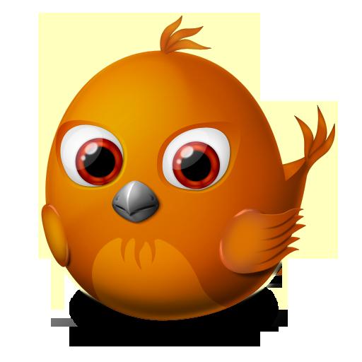 иконка firebird, bird, птица, птичка,