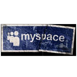 иконки myspace,