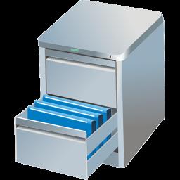 иконки ящик, файлы, архив,