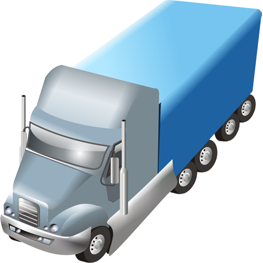 иконки trailer, трейлер, машина, автомобиль, грузовик,