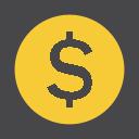 иконка coin, монета, деньги,