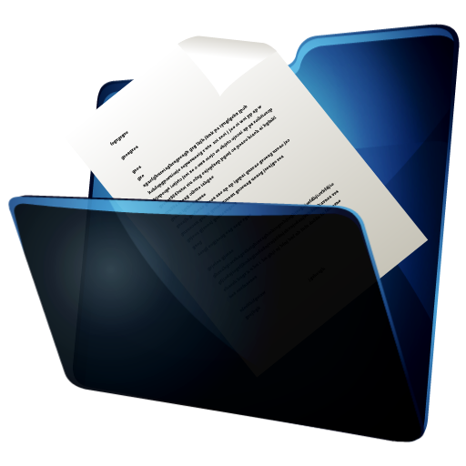 иконка folder documents, мои документы, папка,