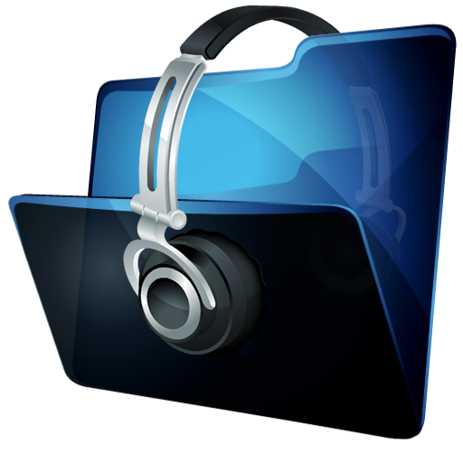 иконки folder music, folder, папка, моя музыка,