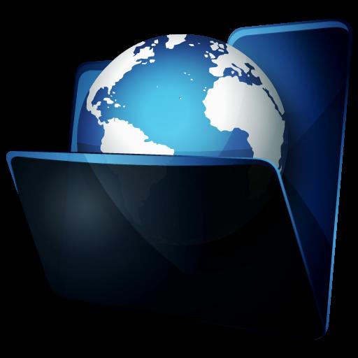 иконки folder network, сетевая папка, интернет, internet,