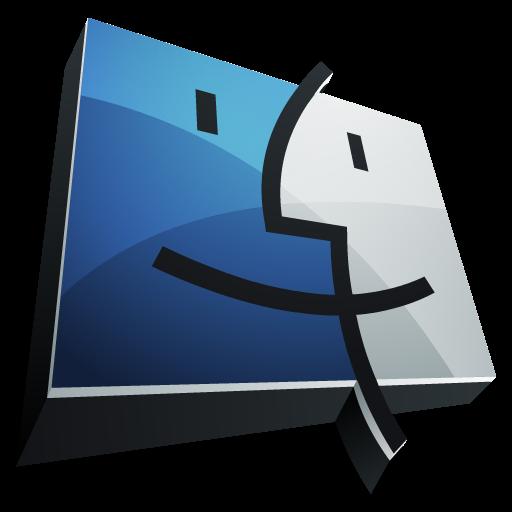 иконки finder, mac,