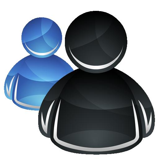 иконки msn, user, пользователи, контакты,