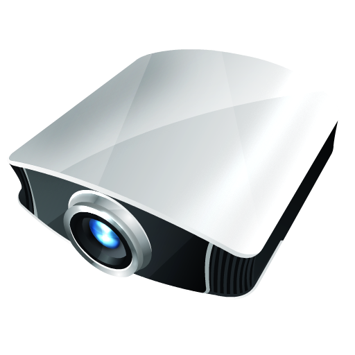 иконки projector, проектор,