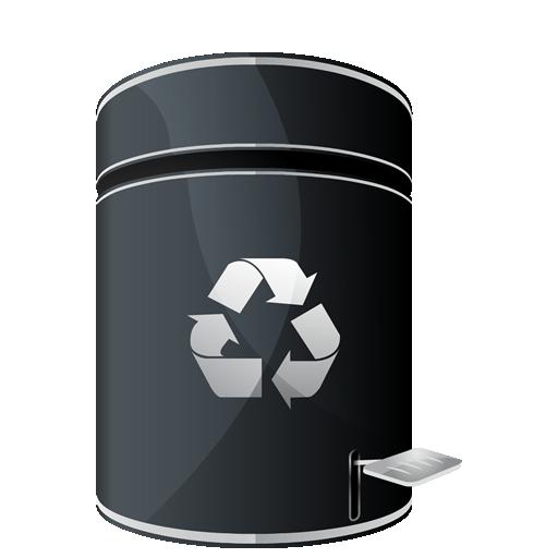 иконки recycle empty, пустая корзина,
