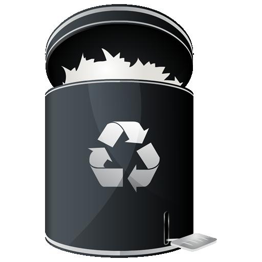 иконки recycle full, полная корзина,