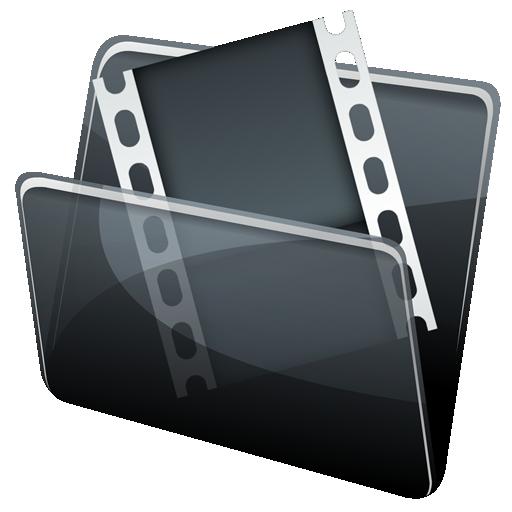 иконки video folder, мое видео, папка,