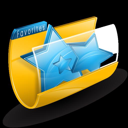 иконки favorites, избранное, звезда, folder, папка,