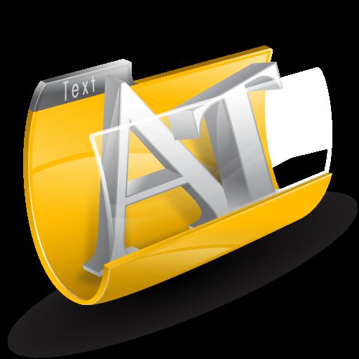 иконки text, текст, документы, папка,