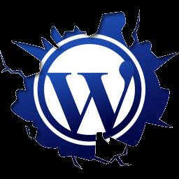 иконка wordpress,