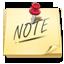 иконки note, записка, напоминание,
