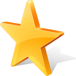 иконки favorites, избранное, звезда, star,