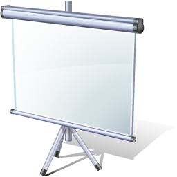 иконки presentation, презентация, экран,
