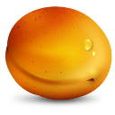 иконки apricot, абрикос, фрукты, фрукт,