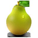 иконка pear, груша,