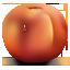 иконка peach, персик, нектарин,