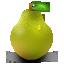 иконки pear, груша,
