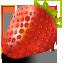 иконка strawberry, клубника,