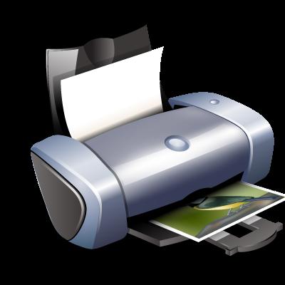 иконка printer, принтер,