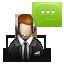 иконки chat support, тех поддержка,  помощь, чат,