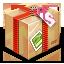 иконки delivery, посылка, подарок, коробка, доставка,