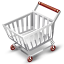 иконки empty cart, пустая корзина, тележка, шоппинг,