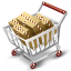 иконки  full cart, полная корзина, покупки, тележка, шоппинг,