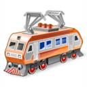 иконки electric locomotive, локомотив, поезд,