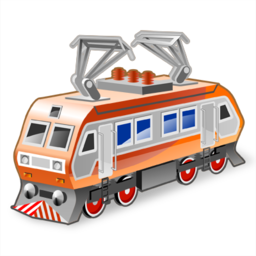 иконка electric locomotive, локомотив, поезд,
