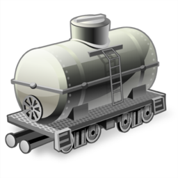 иконка tank wagon, танкерный вагон, цистерна,