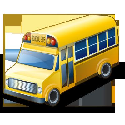 иконки school bus, школьный автобус, машина,