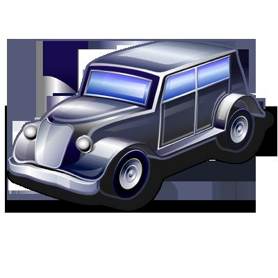 иконка vintage car, старинный автомобиль, машина,