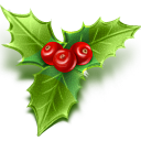 иконки  mistletoe, омела белая, рождество, новый год,