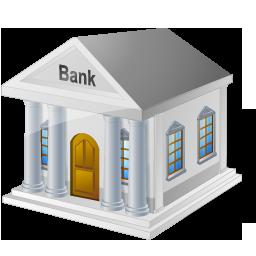 иконка bank, банк, здание,