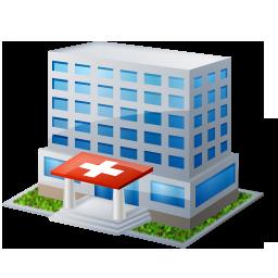 иконка hospital, госпиталь, больница, здание,