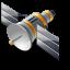 иконка satellite, спутник,