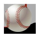 иконка baseball, ball, бейсбол, мяч,