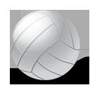 иконки volleyball, ball, волейбол, волейбольный мяч,