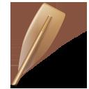 иконка watercraft rowing, oar, гребля, весло,