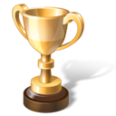 иконки trophy, gold, трофей, золотой кубок, золото, приз,