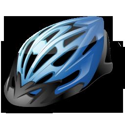 иконка шлем, велосипедный шлем,