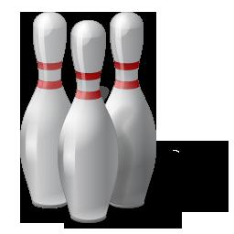 иконка bowling, pins, боулинг, кегли,