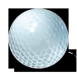иконка golf, ball, гольф, мяч,