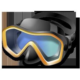 иконки snorkeling, diving mask, маска, маска ныряльщика, водолаз,