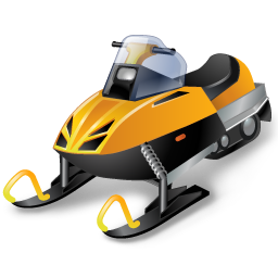 иконка snowmobile racing, snowmobile, снегоход,