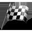 иконки auto racing, finish flag, финишный флаг,