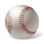иконки baseball, ball, бейсбол, мяч,